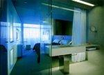Перегородки из прозрачного, матового или тонированного стекла